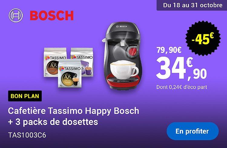 Cafetière tassimo en promotion