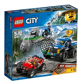 LEGO - LEGO® City - La course-poursuite en montagne - 60172 - 60172