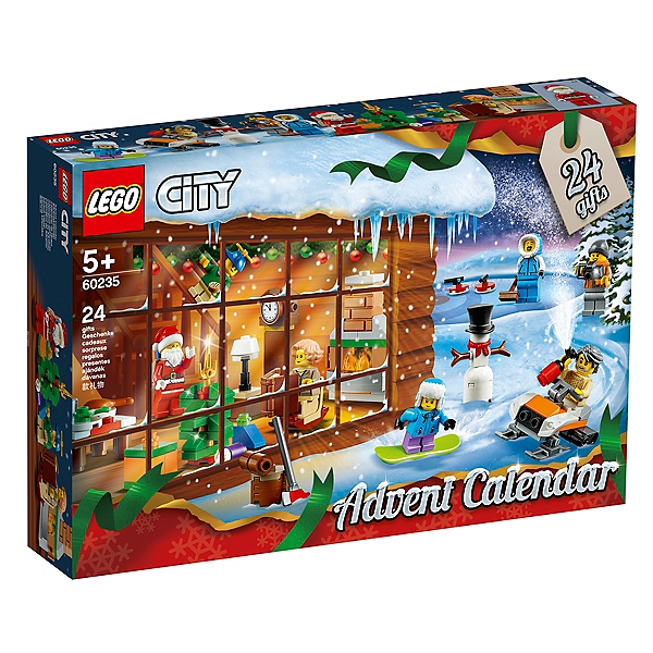 Calendrier Lego City.Lego City Le Calendrier De Lavent Lego City 60235