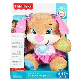 Fisher-Price - Nouveau Sis Interactif - Peluche Interactive - 6 Mois Et +  - Fisher Price - FPP52