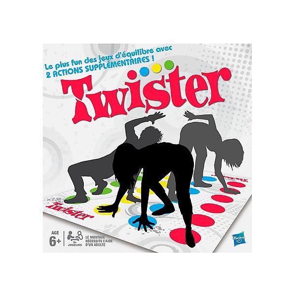 Twister Jeu De Societe Fun D Equilibre Version Francaise Jouets Espace Culturel E Leclerc