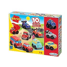 Coffret 10 Vehicules Fast Car - 3269