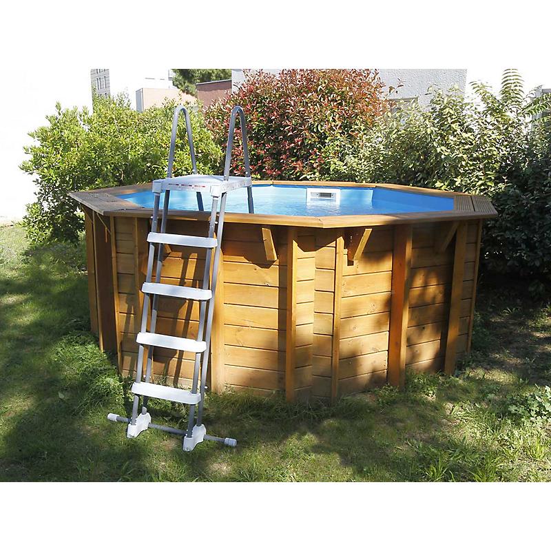 Piscine Bois Emeraude O360 X H 120 Cm Maison Et Loisirs E Leclerc