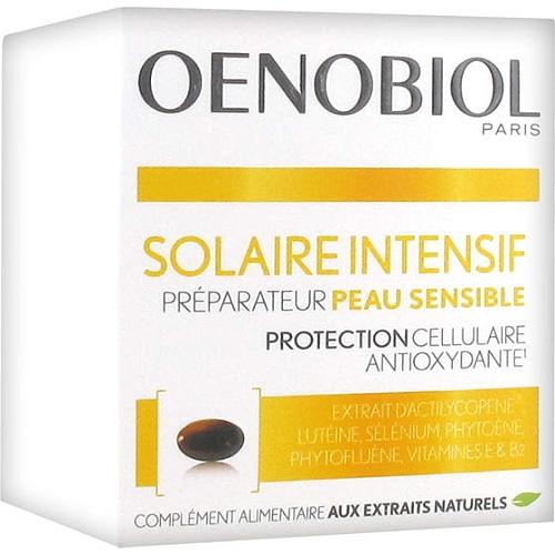 Solaire intensif préparateur peau sensible 30 capsules