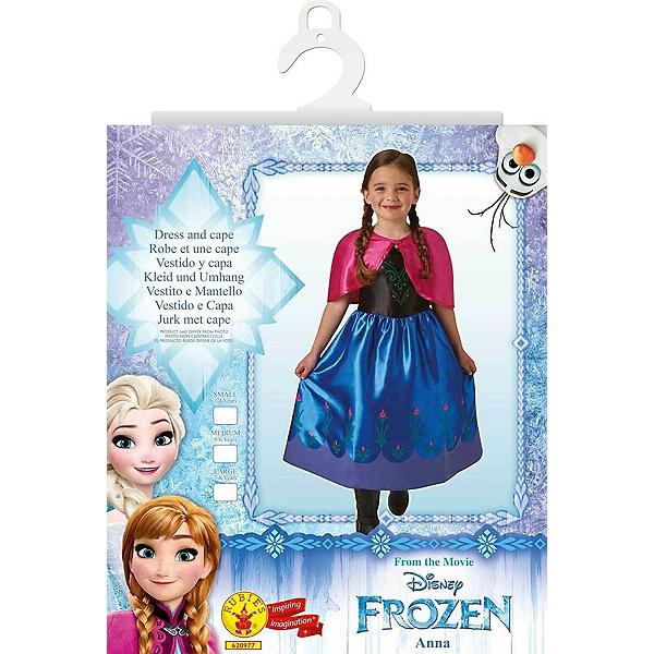 La Reine des Neiges - Déguisement Classique Anna - Taille L - Disney ... befc03a6c39d