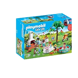 PLAYMOBIL - Famille Et Barbecue Estival - 9272