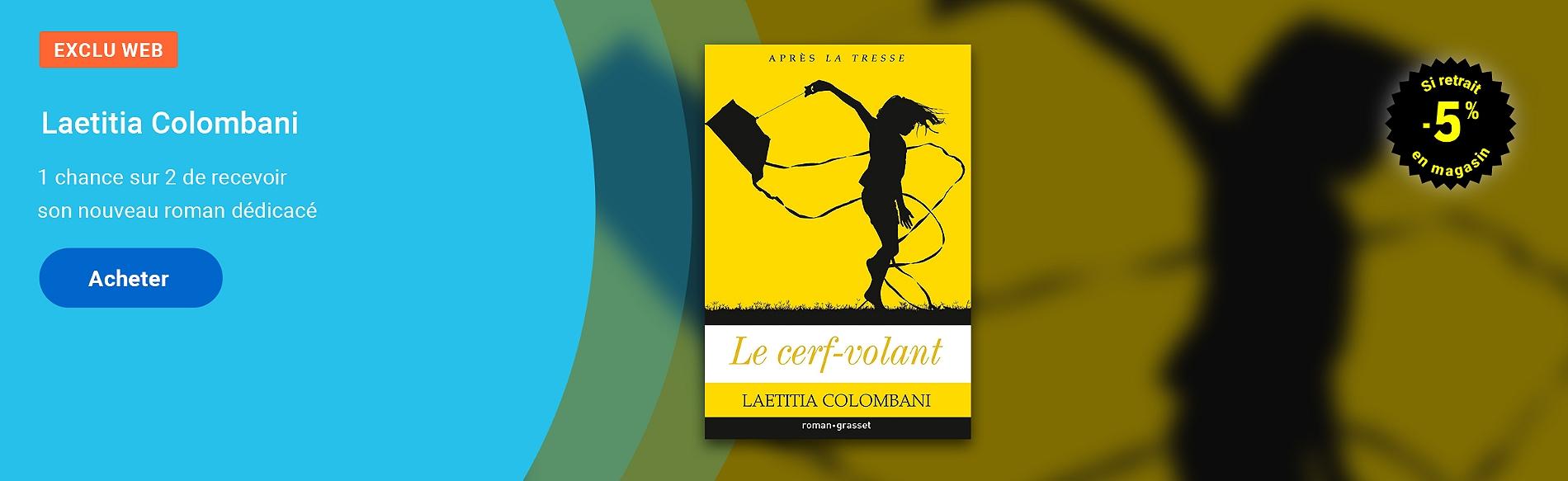 Laetitia Colombani - Le cerf-volant