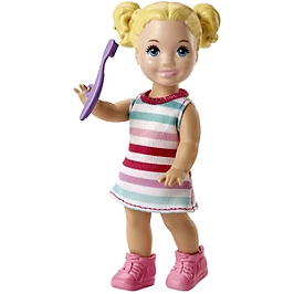 BARBIE SKIPPER COFFRET BABYSITTER ET ENFANT - POT - FJB01