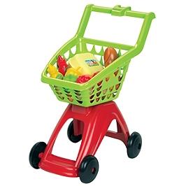 Chariot Supermarche Garni - 1259