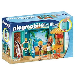PLAYMOBIL - Coffre Boutique De Surf - 5641