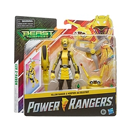Power Rangers Beast Morphers - Figurine Deluxe Jax - 15 Cm - Power Rangers - E80875L00