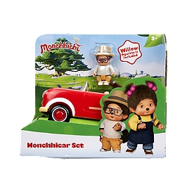 Monchhichi Voiture Monchhiroule Et Figurine Saule - Monchhichi - 81513