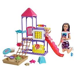 Barbie - Skipper Baby-Sitter Journée Au Parc - Poupée Mannequin - 3 Ans Et + - Barbie - GHV89