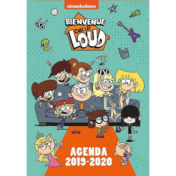 Bienvenue Chez Les Loud Agenda 2019 2020