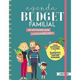 Agenda budget familial : de septembre 2019 à décembre 2020