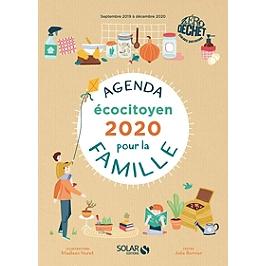 Agenda écocitoyen pour la famille : 2020 : septembre 2019 à décembre 2020