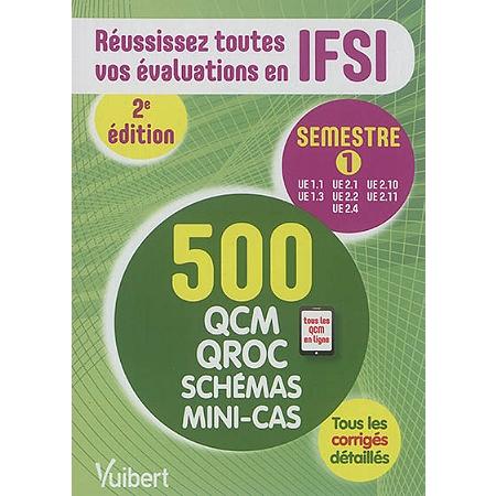 Réussissez toutes vos évaluations en IFSI - semestre 1, UE ...