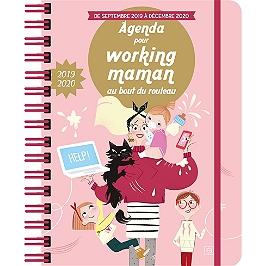 Agenda pour working maman au bout du rouleau 2019-2020 : de septembre 2019 à décembre 2020