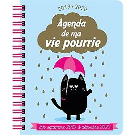 Agenda de ma vie pourrie 2019-2020 : de septembre 2019 à décembre 2020