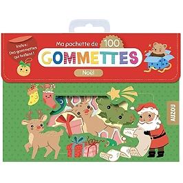 Noël : ma pochette de 100 gommettes