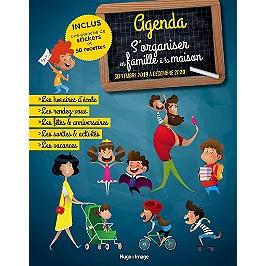 S'organiser en famille à la maison : agenda, septembre 2019 à décembre 2020