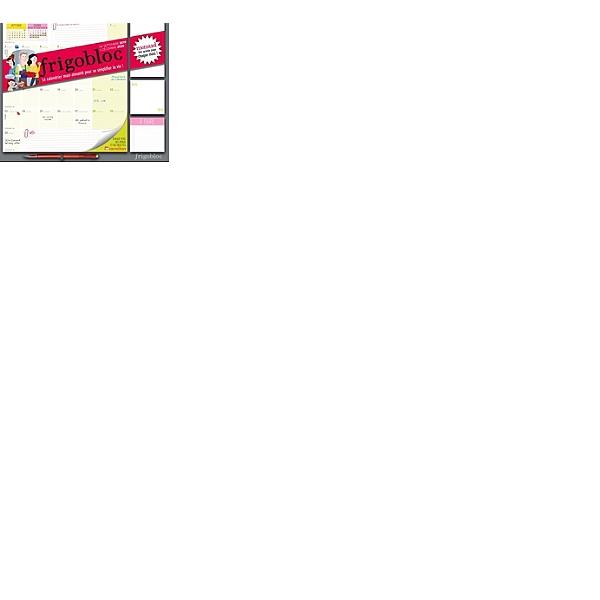 Calendrier Septembre 2020 Septembre 2019.Frigobloc Le Calendrier Maxi Aimante Pour Se Simplifier La Vie De Septembre 2019 A Decembre 2020