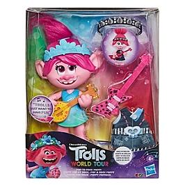 Les Trolls 2 Tournée Mondiale De Dreamworks - Figurine Poupee Poppy Pop & Rock - Trolls - E94115F00