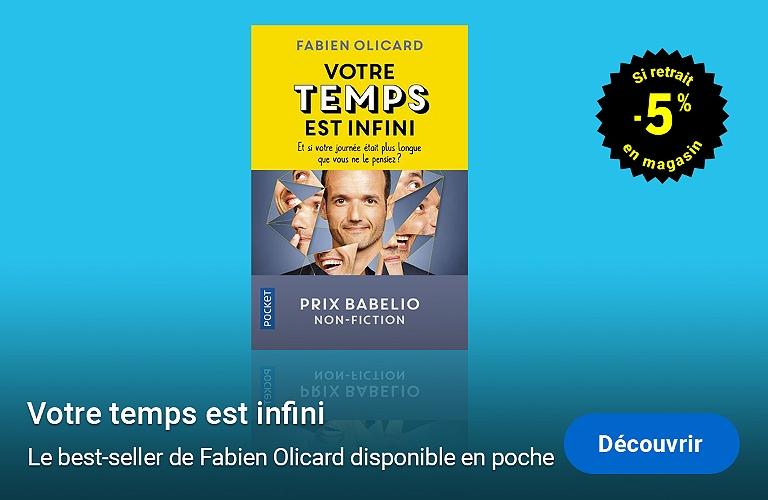 Fabien Olicard : Votre temps est infini