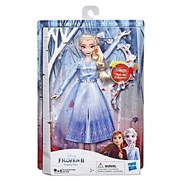 Disney La Reine Des Neiges 2 - Poupee Princesse Disney Elsa Chantante (Français) - 27 Cm - Disney Reine Des Neiges - E6852FR00