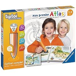 Tiptoi® - Coffret Complet Lecteur Interactif + Livre Atlas - Aucune - 4005556000326