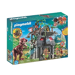 Campement explorateurs tyrannosaure - 9429