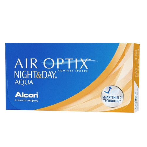 Lentilles Air Optix Night & Day ?? Air Optix Night & Day Aqua