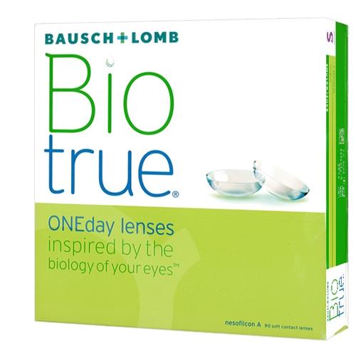 Biotrue One Day 90. , Bausch Lomb. Boite de 90 lentilles f346e82f3a89