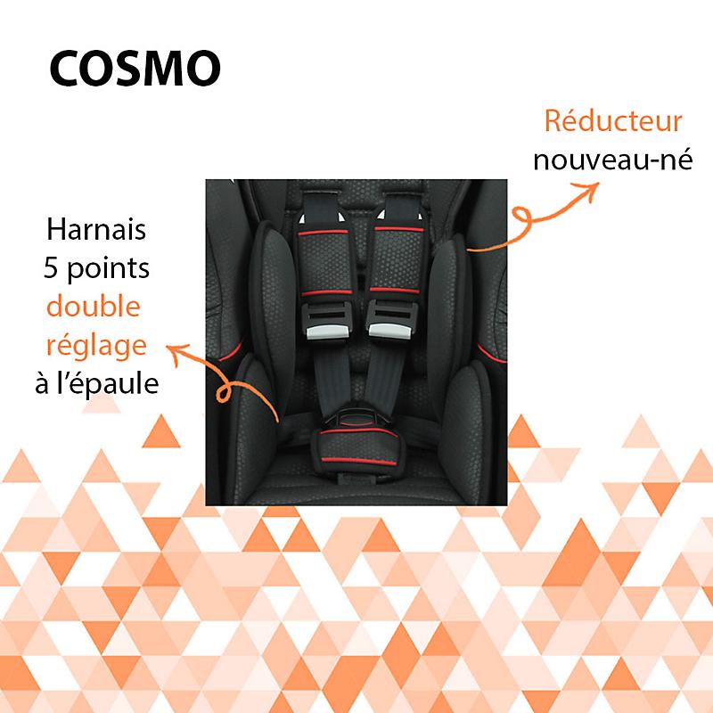 Siège-auto Cosmo Pop GPE 0/1 Gris