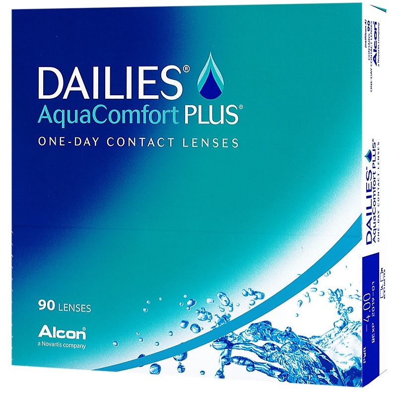 Lentilles Dailies aquaComfort plus 90 ?? Dailies AquaComfort plus 90