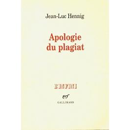 Apologie du plagiat