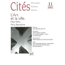 Cités, n° 11 (2002)