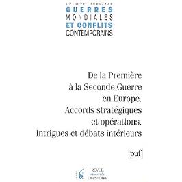 Guerres mondiales et conflits contemporains, n° 220