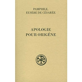 Apologie pour Origène   Volume 1