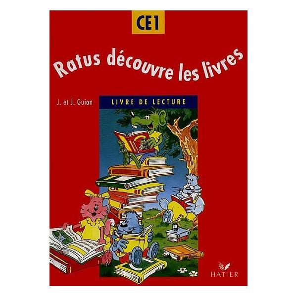 Ratus Decouvre Les Livres Livre De Lecture Ce1 Cycle Des Apprentissages Fondamentaux