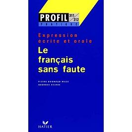 Le français sans faute