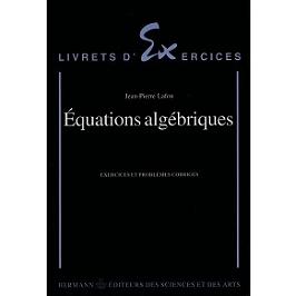 Equations algébriques