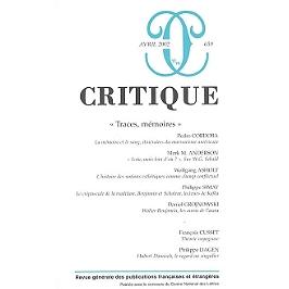 Critique, n° 659