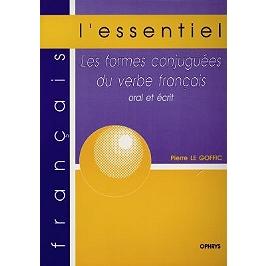 Les formes conjuguées du verbe français : oral et écrit