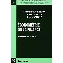 Economie de la finance