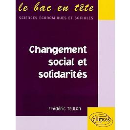 Changement social et solidarités