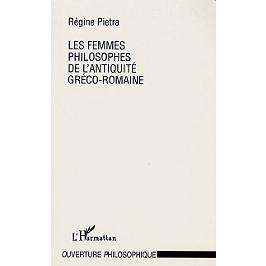 Les femmes philosophes de l'Antiquité gréco-romaine