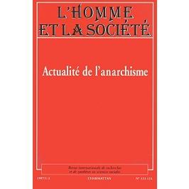 Actualité de l'anarchisme