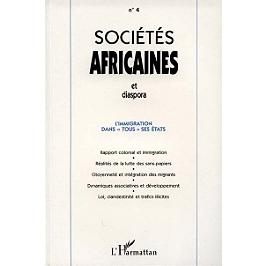 Sociétés africaines et diaspora, n° 4