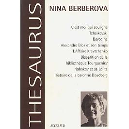 Nina Berberova | Volume 1